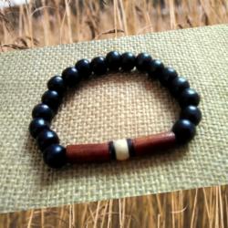 Men's Wooden Bracelet by KaySahai Designs