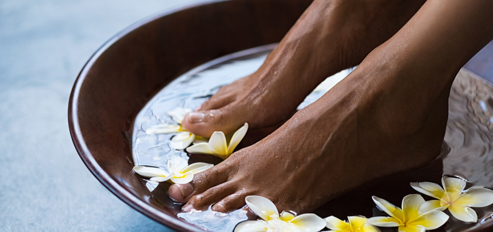 at home spa pedicure