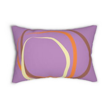 Tranquil Caribbean Breeze Mauve Pillow by KaySahai Designs
