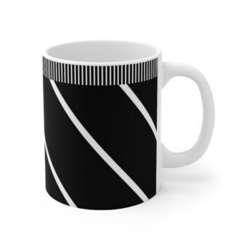 Chic in Stripes Cup by KaySahai Designs